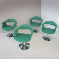 Captain's Swivel Chairs by Eero Aarnio for Asko, 1960s ...