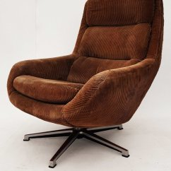 Swivel Chair Ireland Skovby Rosewood Dining Chairs German Lounge Chair, 1970s For Sale At Pamono