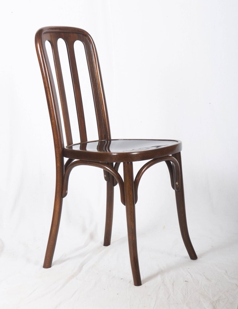 bentwood dining chair x back chairs black antique by josef hoffmann for thonet 1910s sale at price per piece