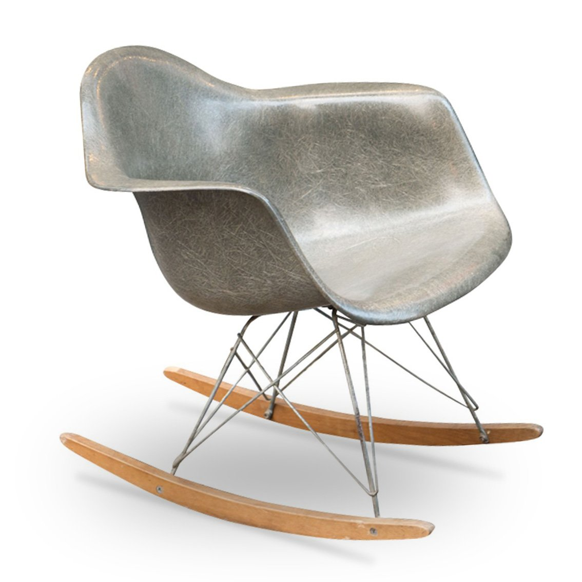 Eanes Chair Vintage Rocking Chair By Charles Ray Eames For Herman Miller 1950s