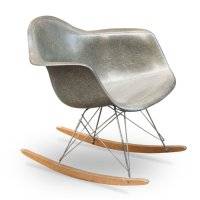 Vintage Rocking Chair by Charles & Ray Eames for Herman