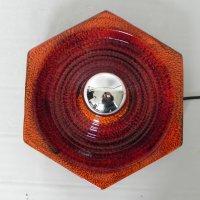 Vintage Ceramic Wall Lamp from Hustadt Leuchten, 1960s for ...