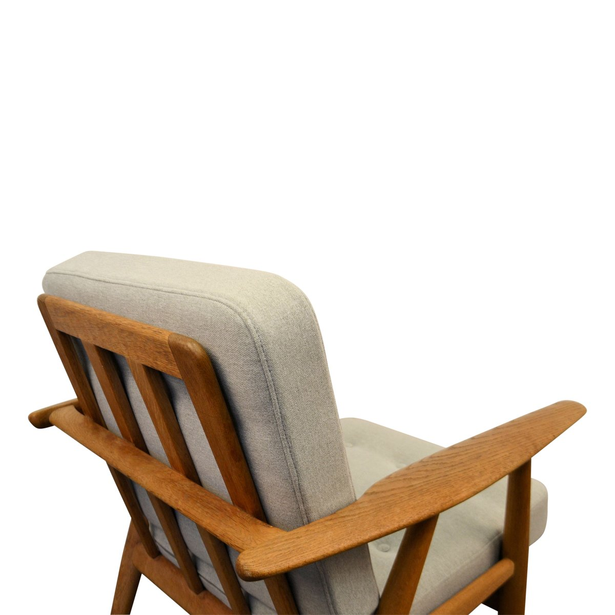 Cigar Lounge Chairs Vintage Oak Cigar Ge 240 Lounge Chair By Hans J Wegner