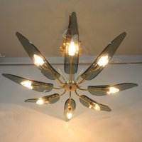 Vintage Italian Ceiling Lamp for sale at Pamono