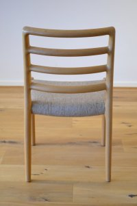 Vintage Scandinavian Dining Chairs in Oak by Niels Otto ...