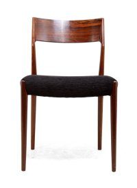 Mid-Century Dining Chairs in Rosewood, 1960s, Set of 6 for ...