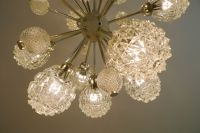 Space Age Sputnik Style Chandelier, 1970s for sale at Pamono