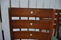 Mid-Century Rosewood Chairs, Set of 10 for sale at Pamono