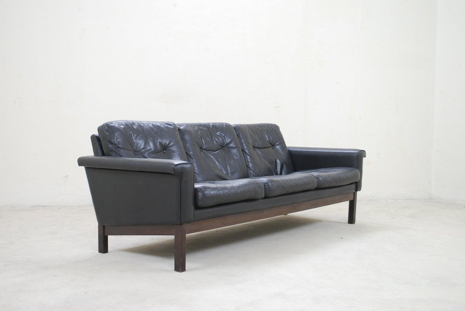 black leather sofa quick delivery donde comprar sofas baratos en zaragoza vintage from asko for sale at pamono