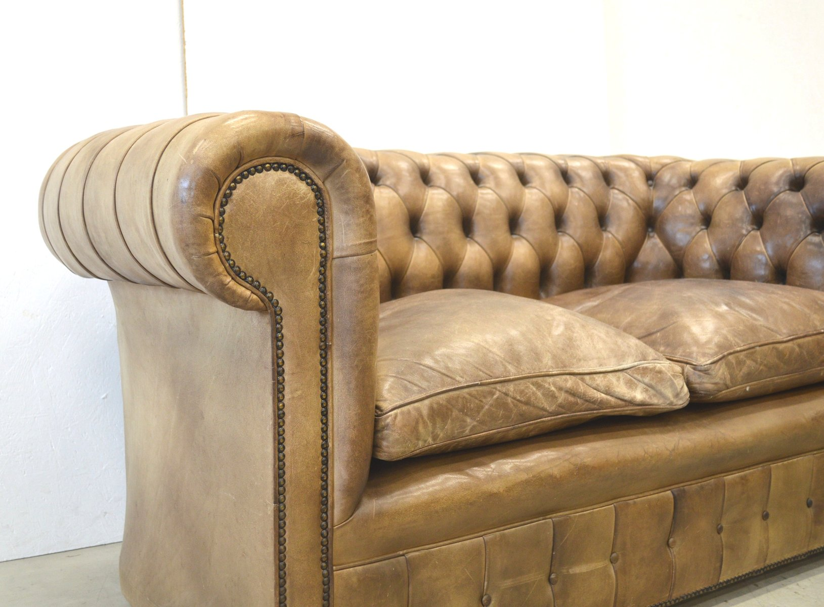 Chesterfield Sofa 3 Sitzer Leder Leder Sofa Chesterfield 3 2 1 Im