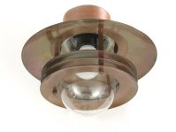 Copper Outdoor Wall Light, 1980s for sale at Pamono