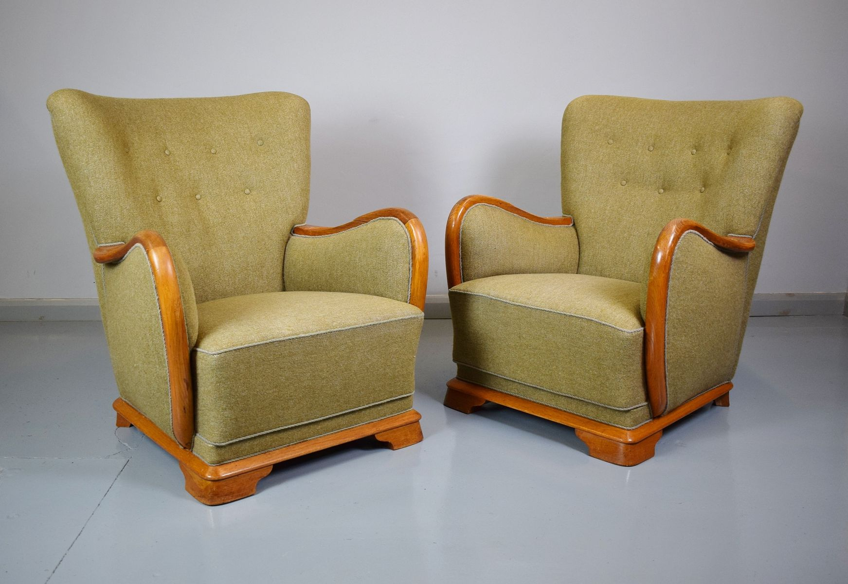 french club chairs for sale cheap chair ties vintage 1940s at pamono