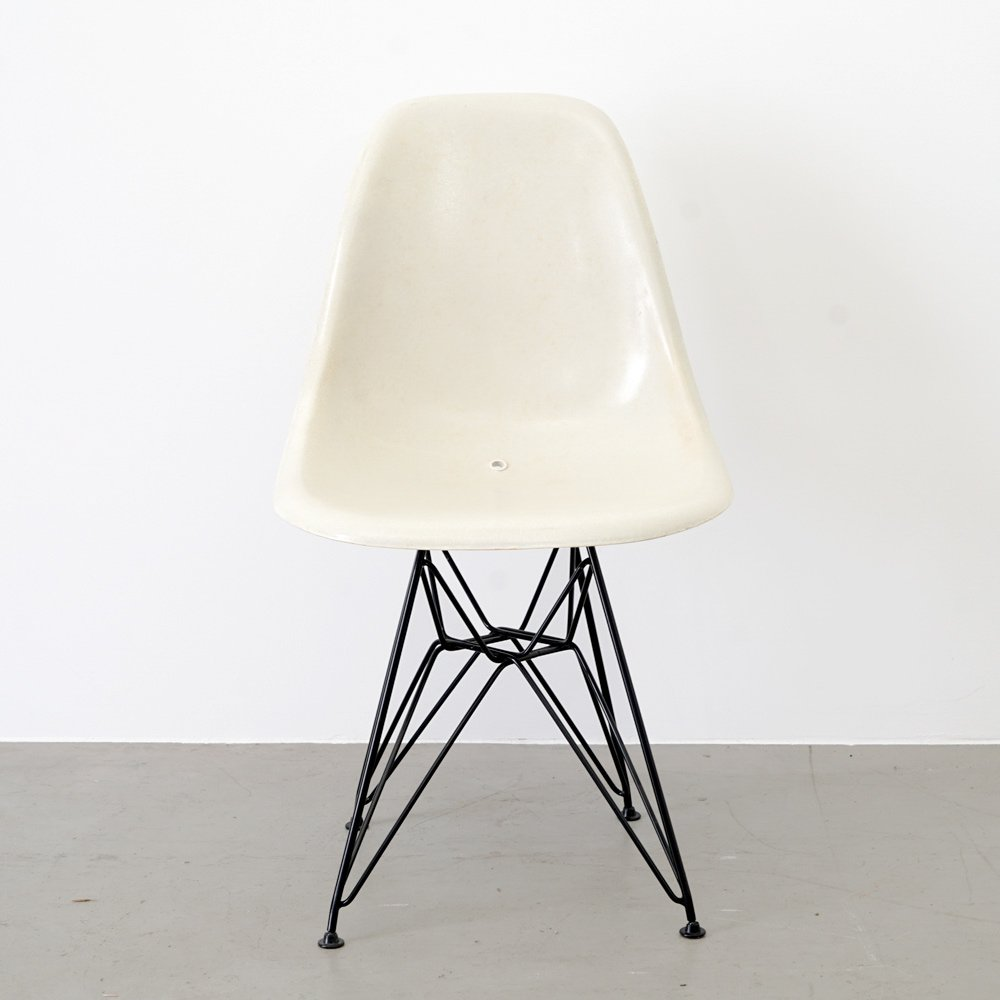 Vintage DSW Side Chair by Charles & Ray Eames for Herman
