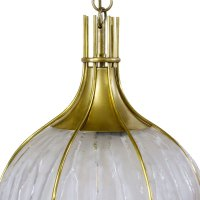 Italian Pendant Light, 1950s for sale at Pamono