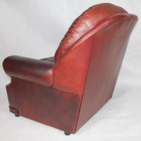 Vintage English Leather Chesterfield Living Room Set ...