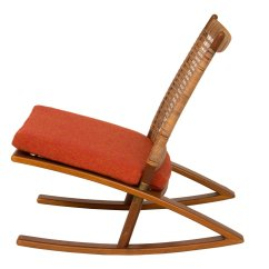 Mid Century Modern Rocking Chair Canada Wooden Desk Chairs Without Wheels By Fredrik A Kayser For Sale At