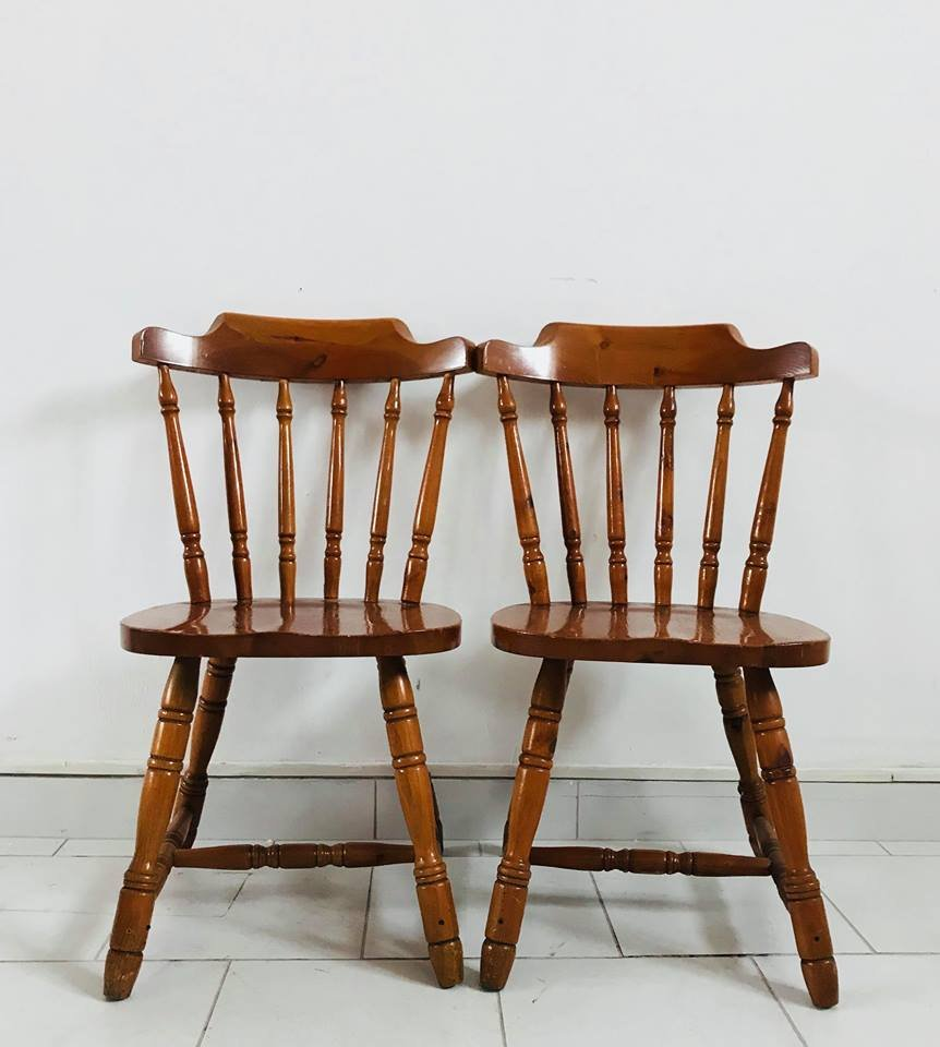 Kitchen Chairs Wood Rustic Kitchen Chairs 1930s Set Of 4
