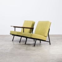 Mid-Century 013 Low Back Chairs by Alf Svensson for Dux ...