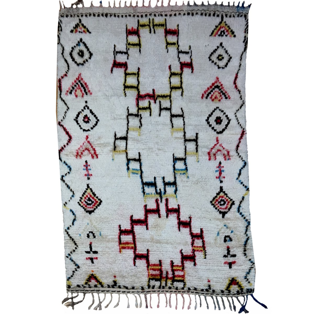 Teppich Novel Vintage Vintage Moroccan Berber Rug 1960s For Sale At Pamono