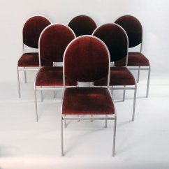 Chrome Dining Chairs Australia Step Two Desk And Chair Vintage By Renato Zevi Set Of 6 For