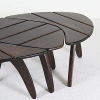 Coffee Tables from Triconfort, 1960s, Set of 3 for sale at