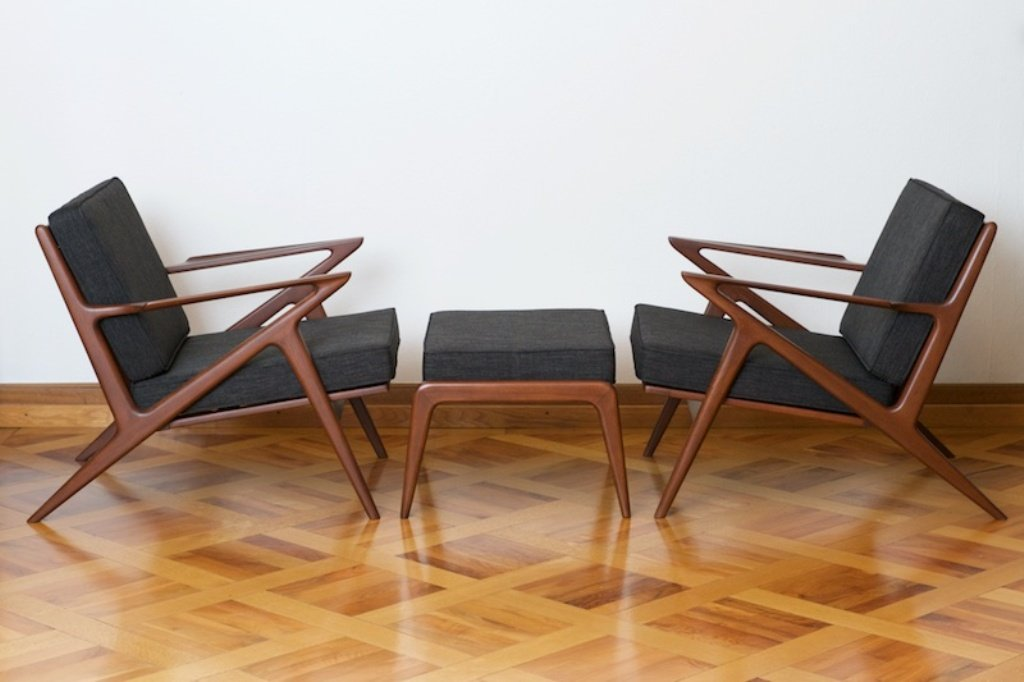 chair design bangkok co chairs circle z with ottoman in teak by poul jensen for haslev 1957 price per piece