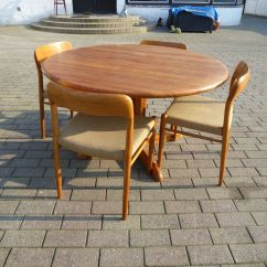 Oak Kitchen Table Lights For Island Danish Dining And Chairs Set By Niels Otto N O Moller 1960s