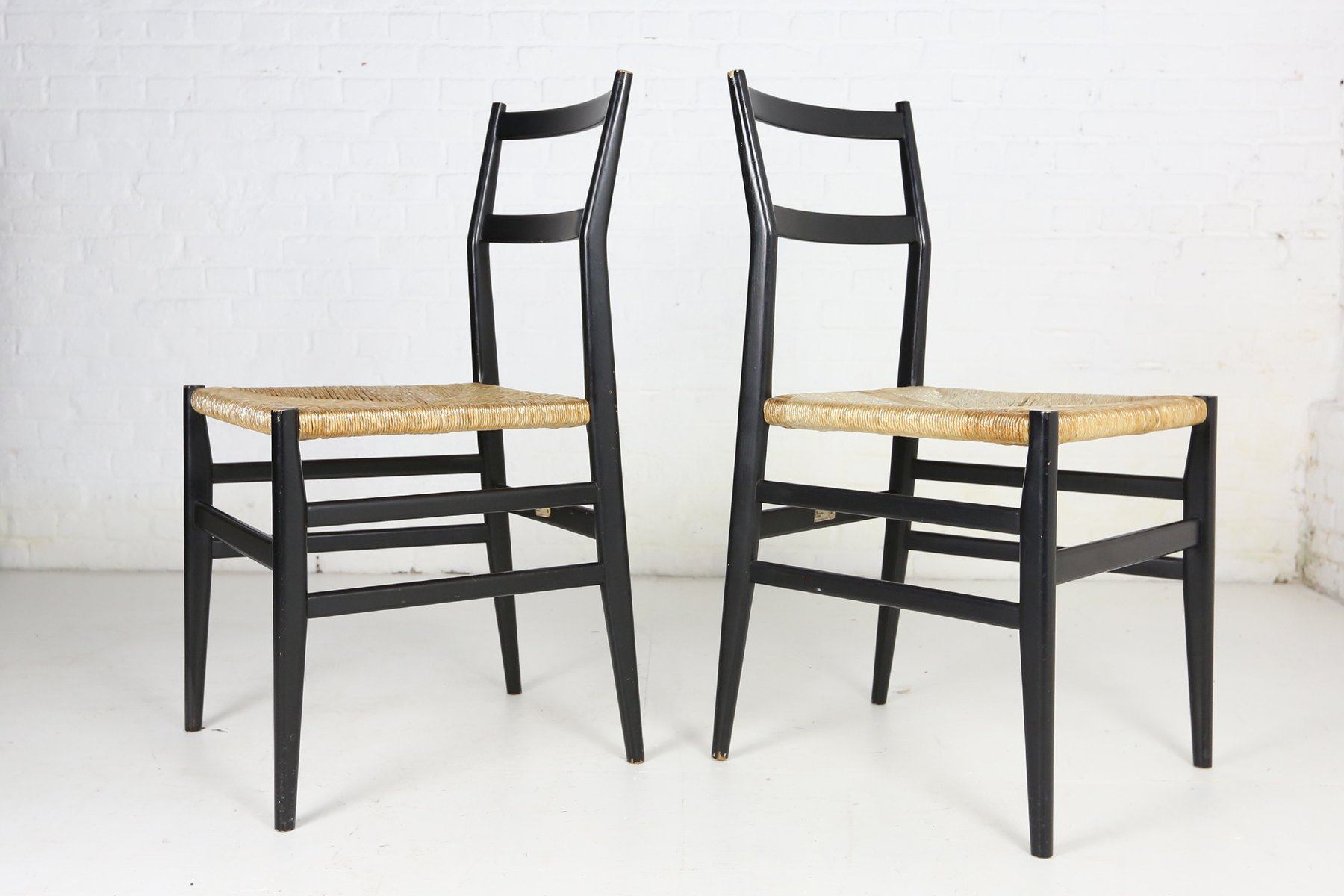Italian Dining Chairs Italian Dining Chairs By Gio Ponti For Cassina 1960s Set Of 6