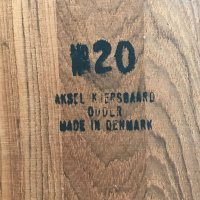 Danish Teak Coat Rack by Sren Nissen & Ebbe Gehl for ...