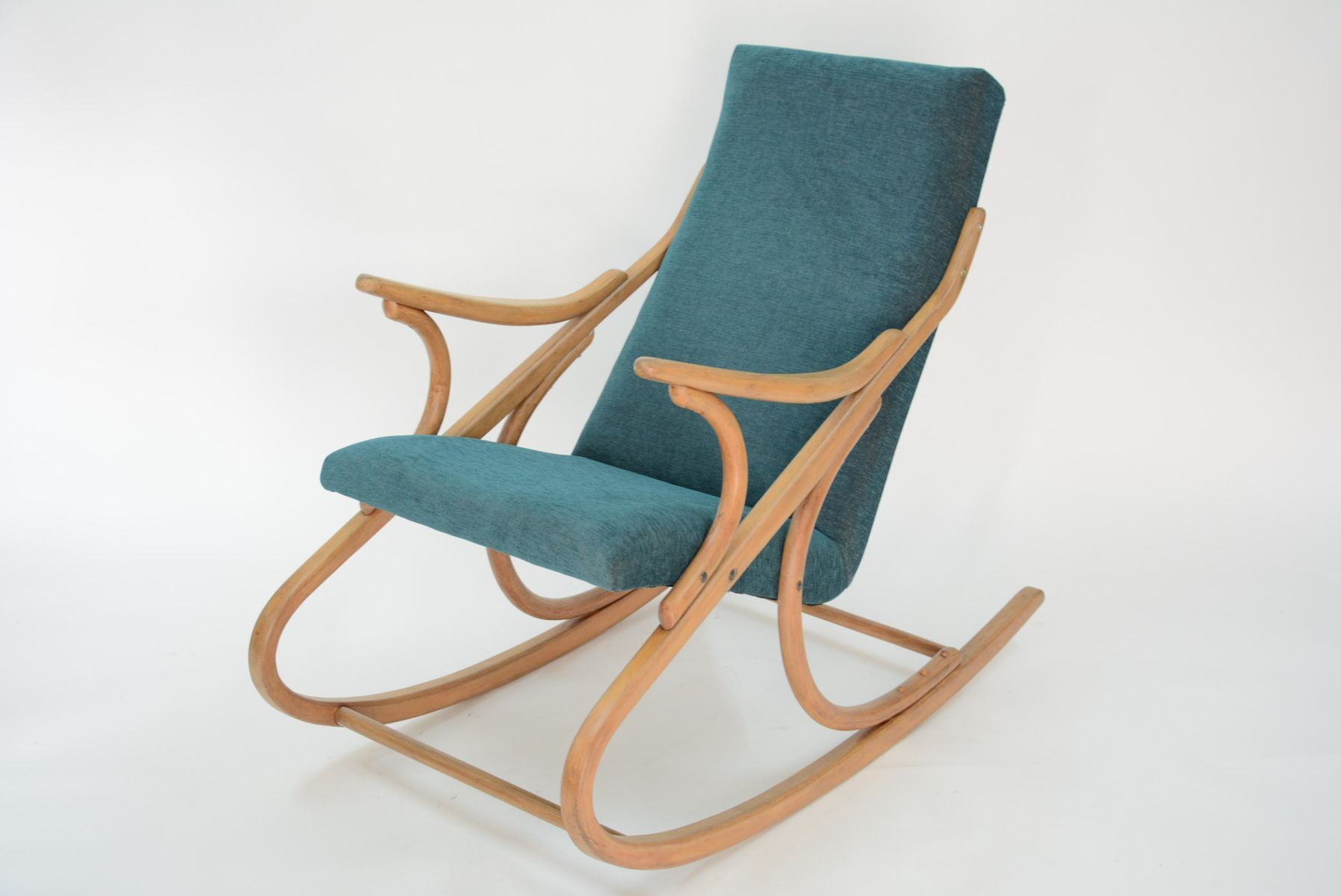 green rocking chair folding lawn chairs ontario by ton 1970s for sale at pamono