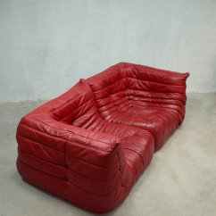 Where To Get Leather Sofa In Singapore Trundle Bed Red Togo Modular By Michel Ducaroy For Ligne ...