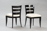 Vintage Art Deco Dining Chairs, Set of 6 for sale at Pamono