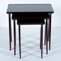 Mid-Century Italian Nesting Tables for sale at Pamono