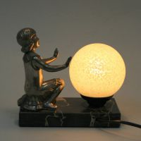 Art Deco Table Lamp for sale at Pamono