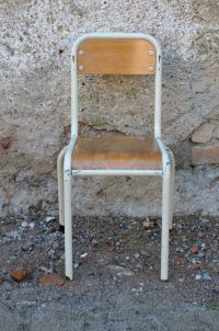 Vintage School Chair for sale at Pamono