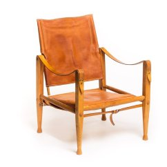 Leather Safari Chair Hanging Patio Chairs Vintage By Kaare Klint For Rud