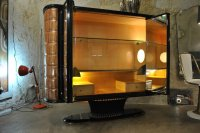 Vintage Italian Bar Cabinet for sale at Pamono