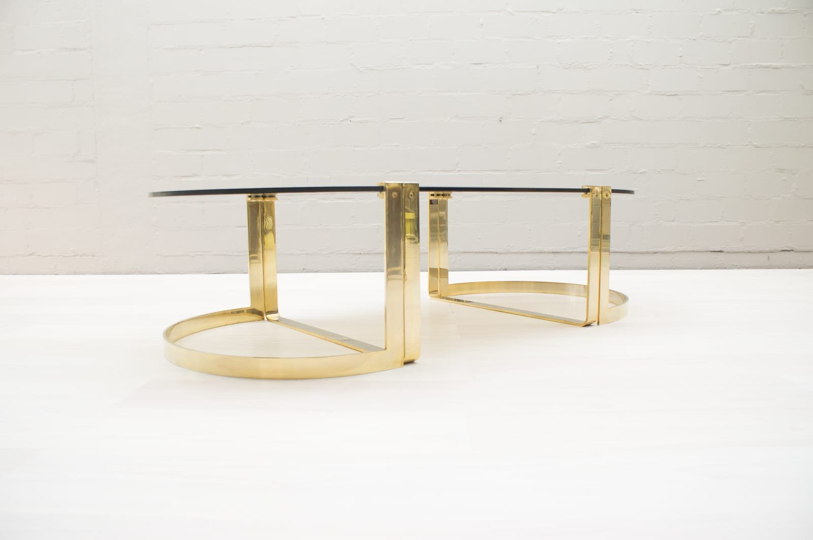 Coffee Tables from Ronald Schmitt, 1970s, Set of 3 for