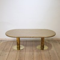 Mid-Century Italian Brass and Marble Side Table for sale ...