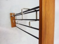Teak Coat and Hat Rack, 1960s for sale at Pamono