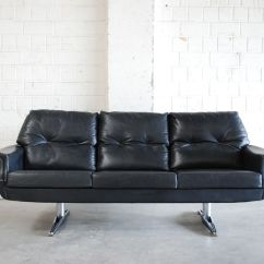 Vintage Leather Sofa Company Wall Bed With Toronto 1970s For Sale At Pamono