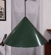 Vintage Green Pendant Lamp from Fog & Mrup for sale at Pamono