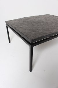 Mid-Century German Slate Top Coffee Table, 1960s for sale ...