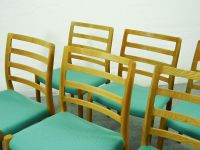 Vintage Scandinavian Oak Dining Chairs by Niels Otto ...