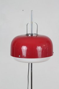 Vintage Red Floor Lamp by Meblo for sale at Pamono