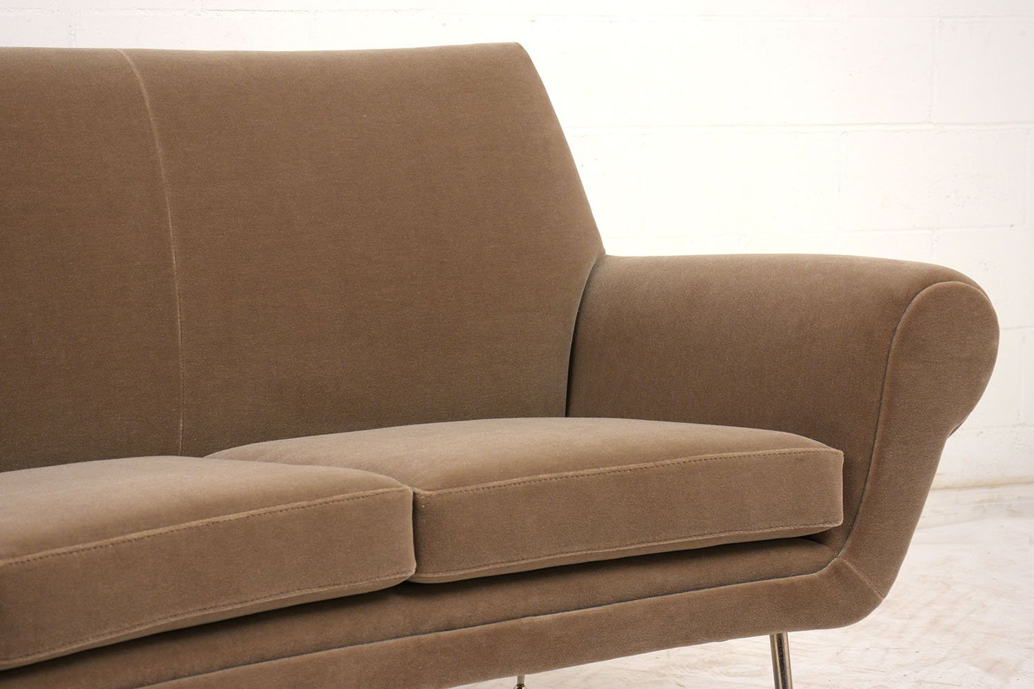 italian modern sofas uk and chairs argos 3 seater curved sofa 1960s for sale at pamono