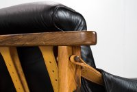 Mid-Century Rosewood & Leather Bertioga Chairs by Jean ...