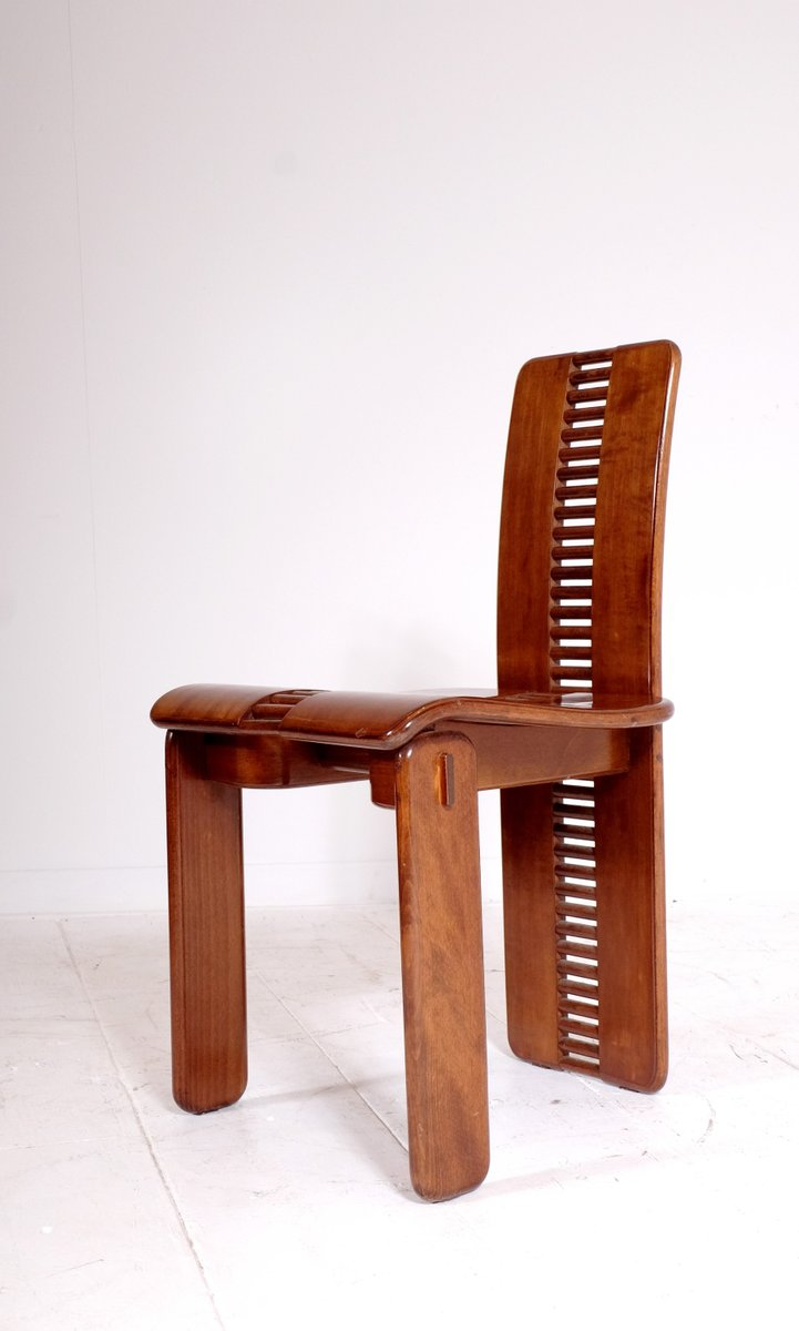 italian dining chairs australia where to rent walnut chairs, 1980s, set of 6 for sale at pamono