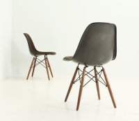 Vintage DSW Chairs by Charles and Ray Eames for Herman