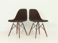 Vintage DSW Chairs by Charles and Ray Eames for Herman ...